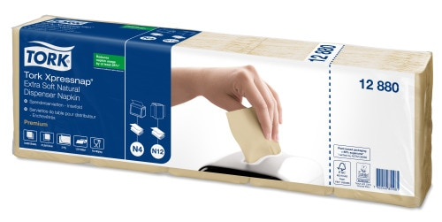 Tork Xpressnap® Tovagliolo Extra Soft natural per dispenser