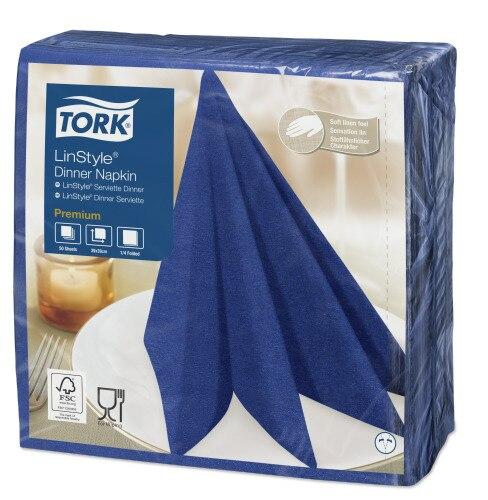Tork Premium Linstyle® Midnight Blue Dinner Napkin