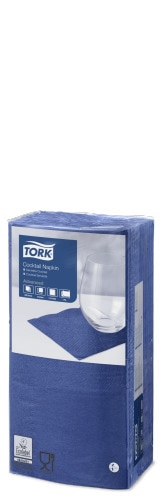 Tork Dark Blue Cocktail Napkin