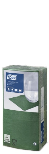 Tork Dark Green Cocktail Napkin
