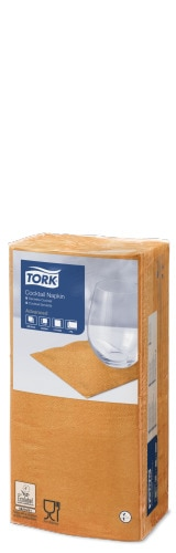 Tork Orange Cocktail Napkin