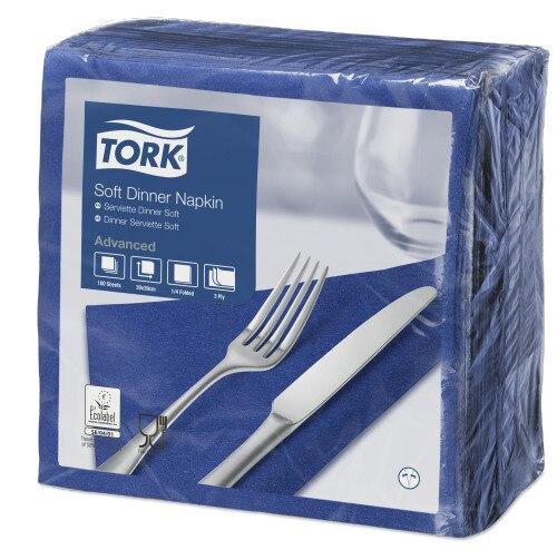 TorkSoft χαρτοπετσέτα δείπνου Dark Blue