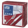 Tork Soft Bordeaux Red Dinner Napkin