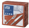 Tork Soft Terracotta Dinner Napkin