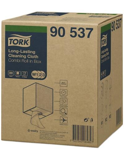 Нетканый материал Tork для интенсивной очистки