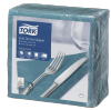 Tork Soft Blue Green Dinner Napkin