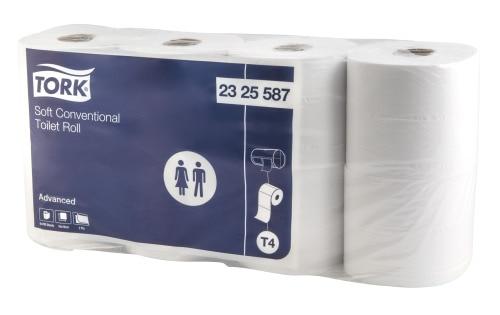 Tork® Conventional Toilet Roll 400sh 8pk