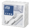Tork White Dinner Napkin