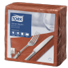 Tork Terracotta Dinner Napkin