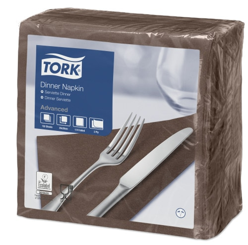 Tork Brown Dinner Napkin