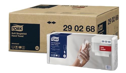 Tork Singlefold Håndklædeark C&C