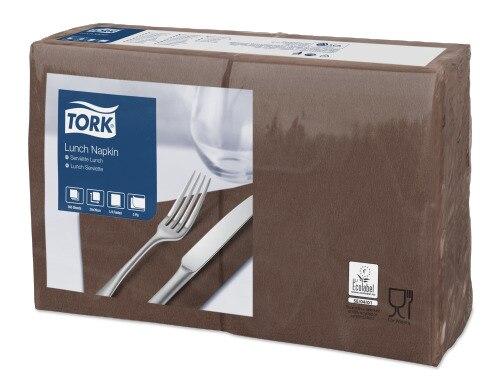Tork Serviette Lunch, Marron, 29x39cm