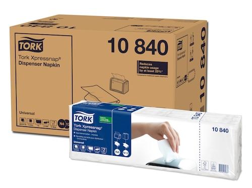 Tork Xpressnap® hvid dispenserserviet