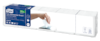 Tork Xpressnap Snack® białe serwetki dyspenserowe, składane w1/4, 1-warstwowe, 1c 1pa, 1125/8