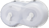 Tork®  SmartOne Twin Mini Toilet Roll Dispenser