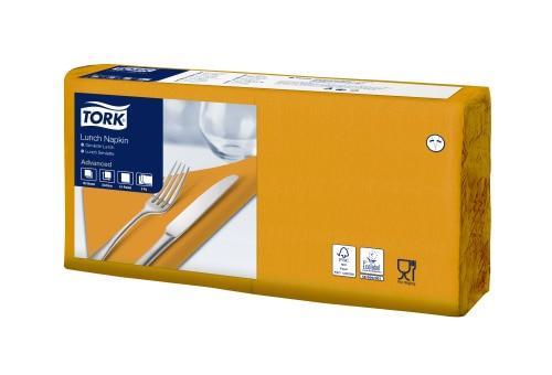 Șervețele de Masă pentru Prânz Tork Soft Orange