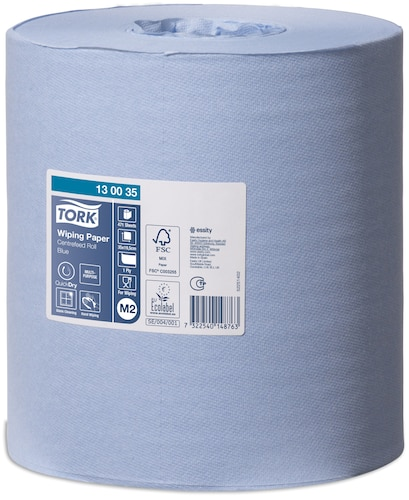 Tork Wiping Paper χαρτί καθαρισμού Blue