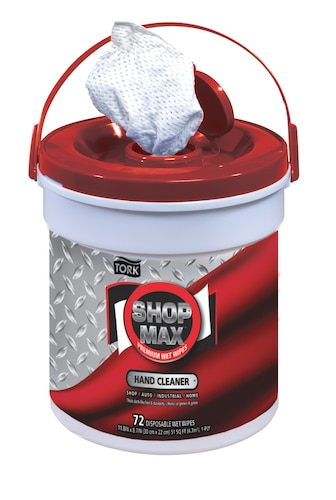 Tork  ShopMax Wet Wipes, Hand Cleaner Bucket