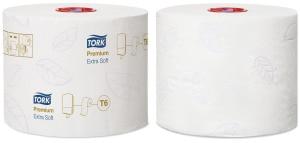 Tork extra weiche Midi Toilettenpapierrolle Premium – 3-lagig