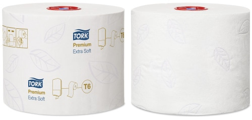 Tork Extra Soft Mid-Size Toilet Roll Premium - 3 Ply