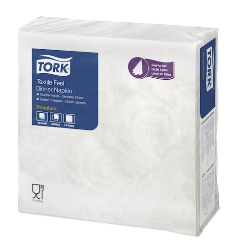 Tork Premium Textile Feel Dinerservet Elegantie