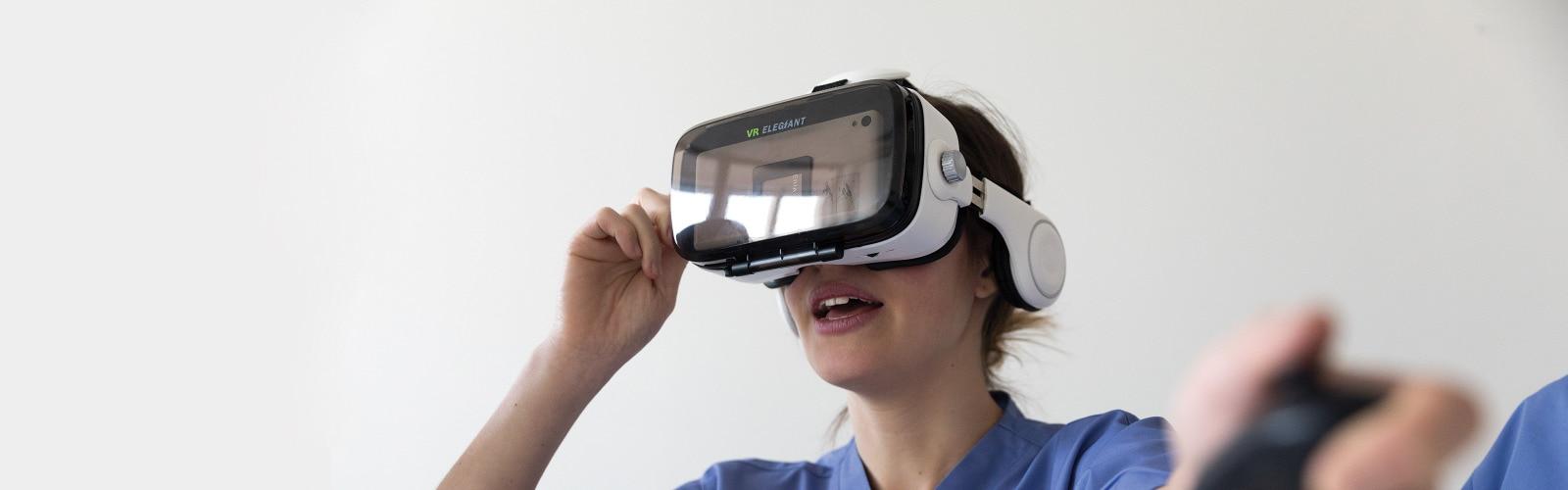 virtual reality training tools