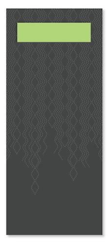 Tork конверт для приборов черный