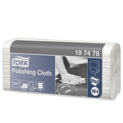 Tork Polishing Cloth, Top-Pak