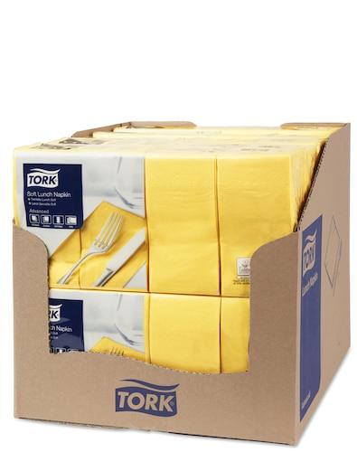 Șervețele de Masă pentru Prânz Tork Soft Yellow 1/8 pliat