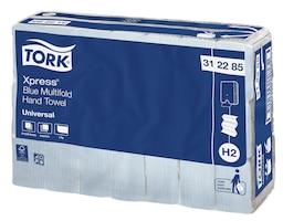 Tork Xpress Blue Multifold Hand Towel / Slimline