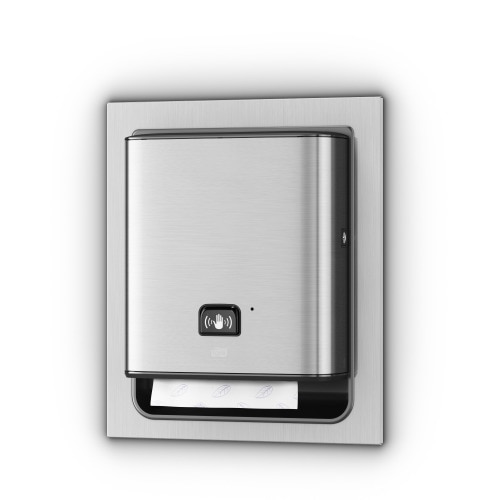 Tork Matic® Hand Towel Dispenser – In-wall Recessed with Intuition™ sensor
