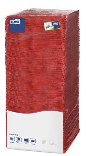 Tork салфетки 25 красные