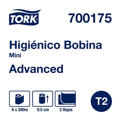 Tork Papel Higiénico en Bobina Advanced